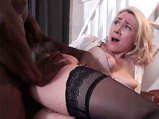 Mommy tries black cock